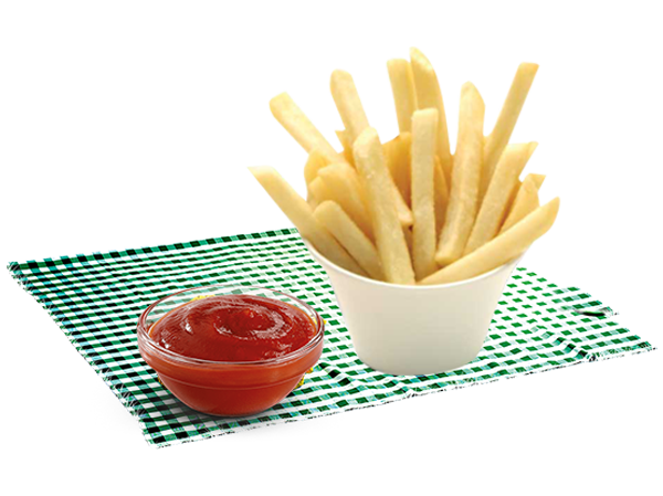 French fries with a special coating