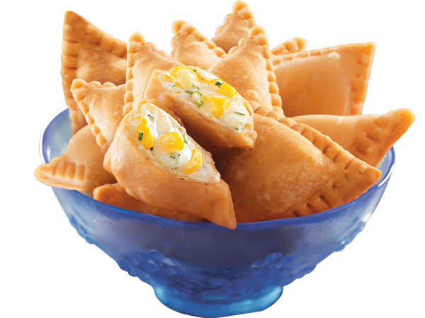 Cheese Corn filling Mini Samosa