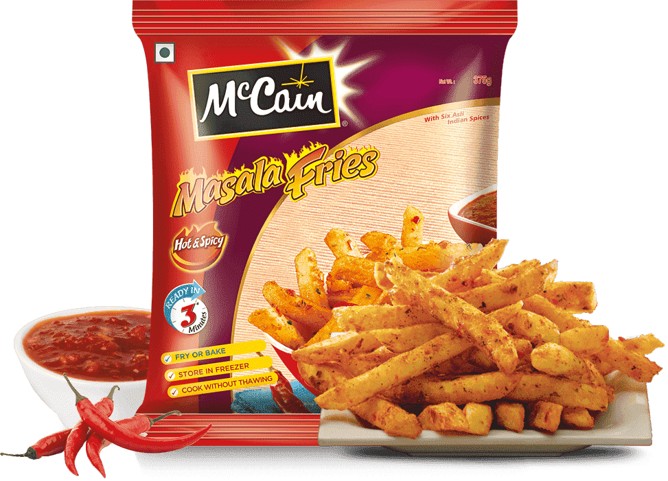 McCain Hot & Spicy Masala Fries