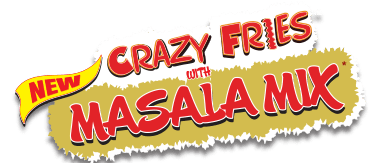 New Crazy Fries with Masala Mix