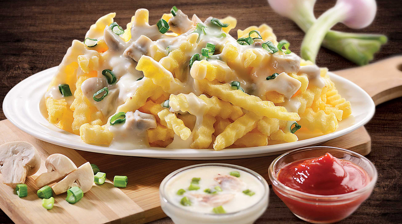 Fries Salad with McCain French Fries