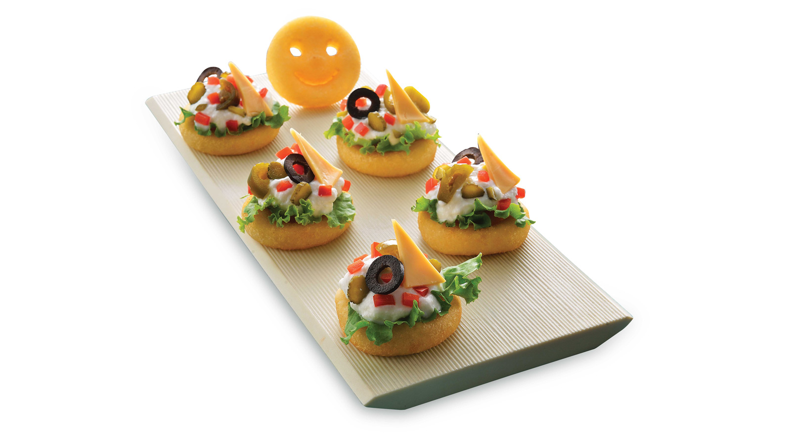 Smiles Canape with McCain Smiles